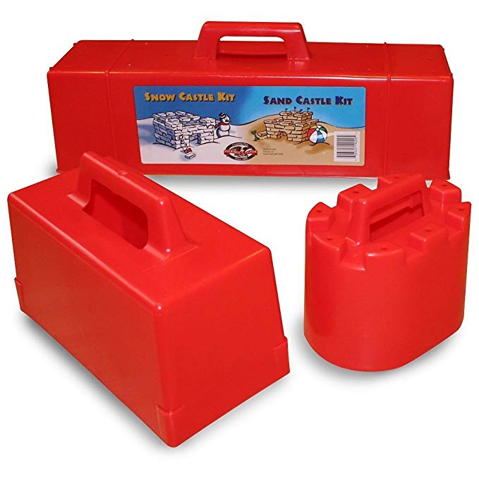 Flexible Flyer Snow Fort Building Kit Brick Form