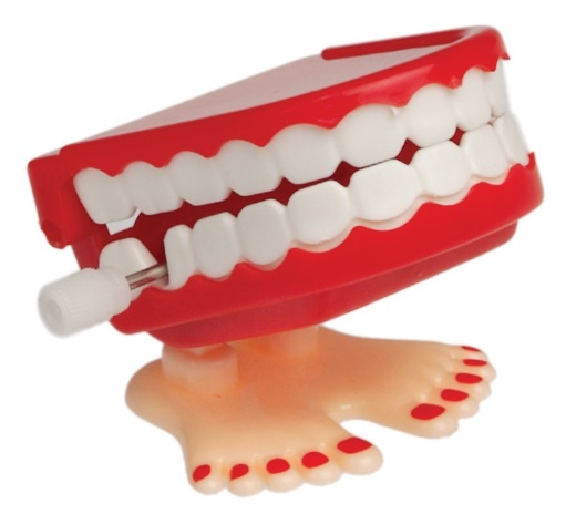 Teeth Windup Toy